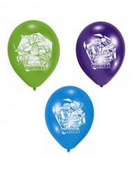 6 Latexballons Ninja Turtles™