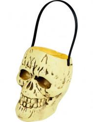 Totenkopf-Bonbon-Schale für Halloween