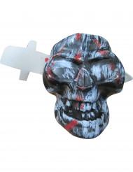 Halloween Totenkopf mit Messer
