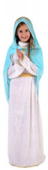 Weihnachten Maria-Kostüm für Mädchen