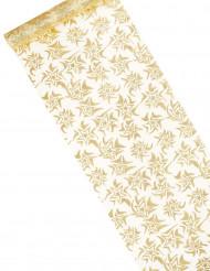 Goldener Tischläufer