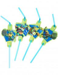 8 Strohhälme - Ninja Turtles™