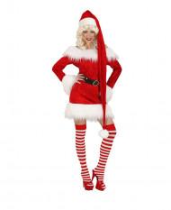 Lange Weihnachts-Mütze für Erwachsene