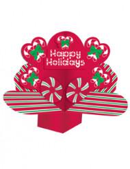Tischdeko - Happy Holidays