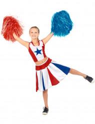 Pompom Girl Sternen-Kostüm für Mädchen