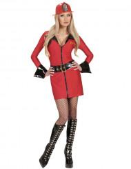 Sexy Feuerwehrfrau-Kostüm für Damen