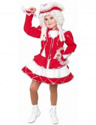 Rotes Funkenmariechen Kostüm für Mädchen