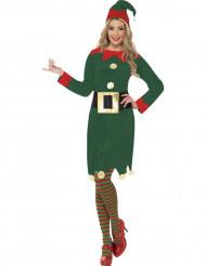 Weihnachtswichtel Kleid für Damen