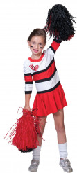 Pompom-Girl-Kostüm für Mädchen