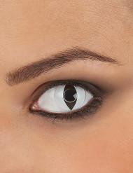 Weiße Reptil-Kontaktlinsen