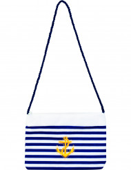 Marine-Handtasche