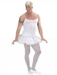 Weißes Prima Ballerina Kostüm für Männer