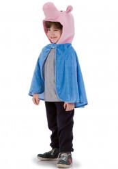 Schwein Kostüm-Umhang für Kinder