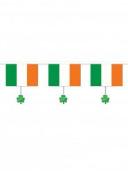 Girlande Irische Flagge grün-weiss-orangenfarben 3,7m