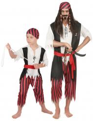 Piraten-Paarkostüm für Vater und Sohn