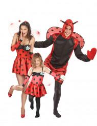 Marienkäfer Familien Gruppen-Kostüm
