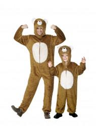 Bären-Paarkostüm Vater und Sohn
