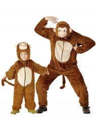 Affen-Paarkostüm Vater und Sohn