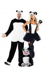 Panda Familien-Kostüm