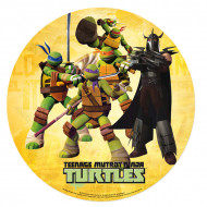 Ninja Turtles™ & Shredder™ Oblate