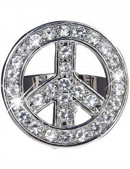 Hippie Strass Ring für Erwachsene