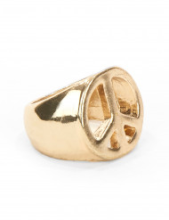 Goldener Hippie Ring