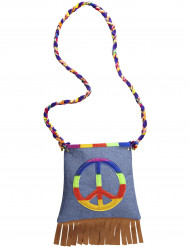 Handtasche Hippie für Erwachsene
