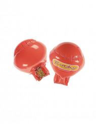 Aufblasbare rote Boxhandschuhe
