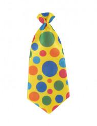 Gepunktete Clown-Krawatte für Erwachsene