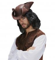 Piraten-Dreispitz für Erwachsene