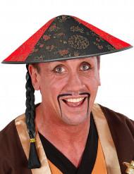 Schwarzer Chinesen-Hut
