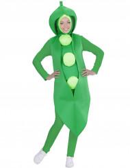 Grüne Erbse - Kostüm für Erwachsene