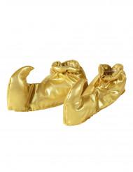 Goldene Überschuhe für Erwachsene