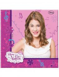20 Violetta™ Papier Servietten