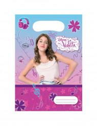 6 Violetta™ Geburtstagstüten
