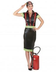 Feuerwehrfrau Kostüm für Damen