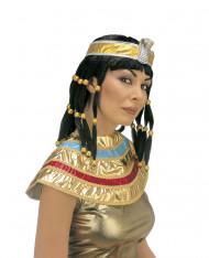 Kleopatra Perücke mit Haarband für Erwachsene