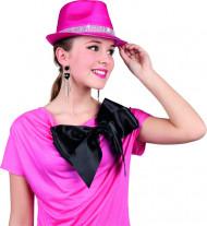 Hut in Pink mit Glitzersteinen für Erwachsene