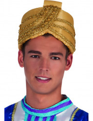 Goldener Sultan-Hut für Erwachsene
