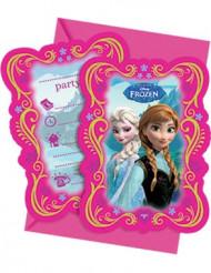 6 Einladungskarten - Die Eiskönigin™