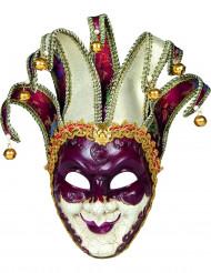 Venezianische Harlekin Maske