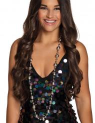 Flippige Disco-Halskette für Erwachsene