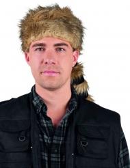 Pelztierjäger-Hut für Erwachsene
