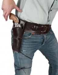 Cowboy-Gürtel mit Waffen-Etui für Erwachsene