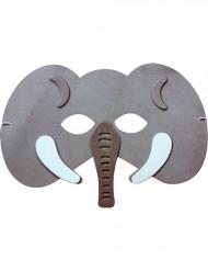 Hinreißende Elefanten-Maske für Kinder