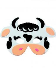 Tierische Kuh-Maske für Kinder