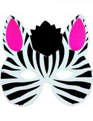 Zebra-Maske für Kinder