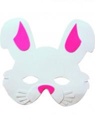 Tierische Hasen-Maske für Kinder