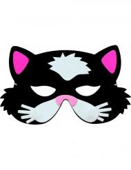 Tierische Katzen-Maske für Kinder