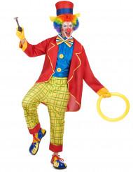 Lustiges Clown Kostüm für Herren bunt
